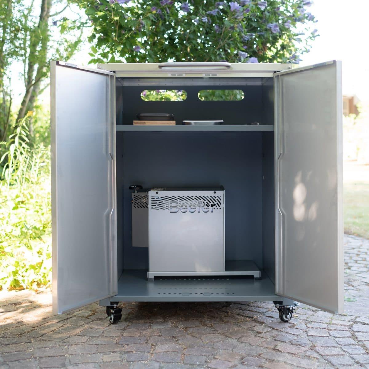 Beefer Rollwagen Raum für Grillgerät zur Überwinterung