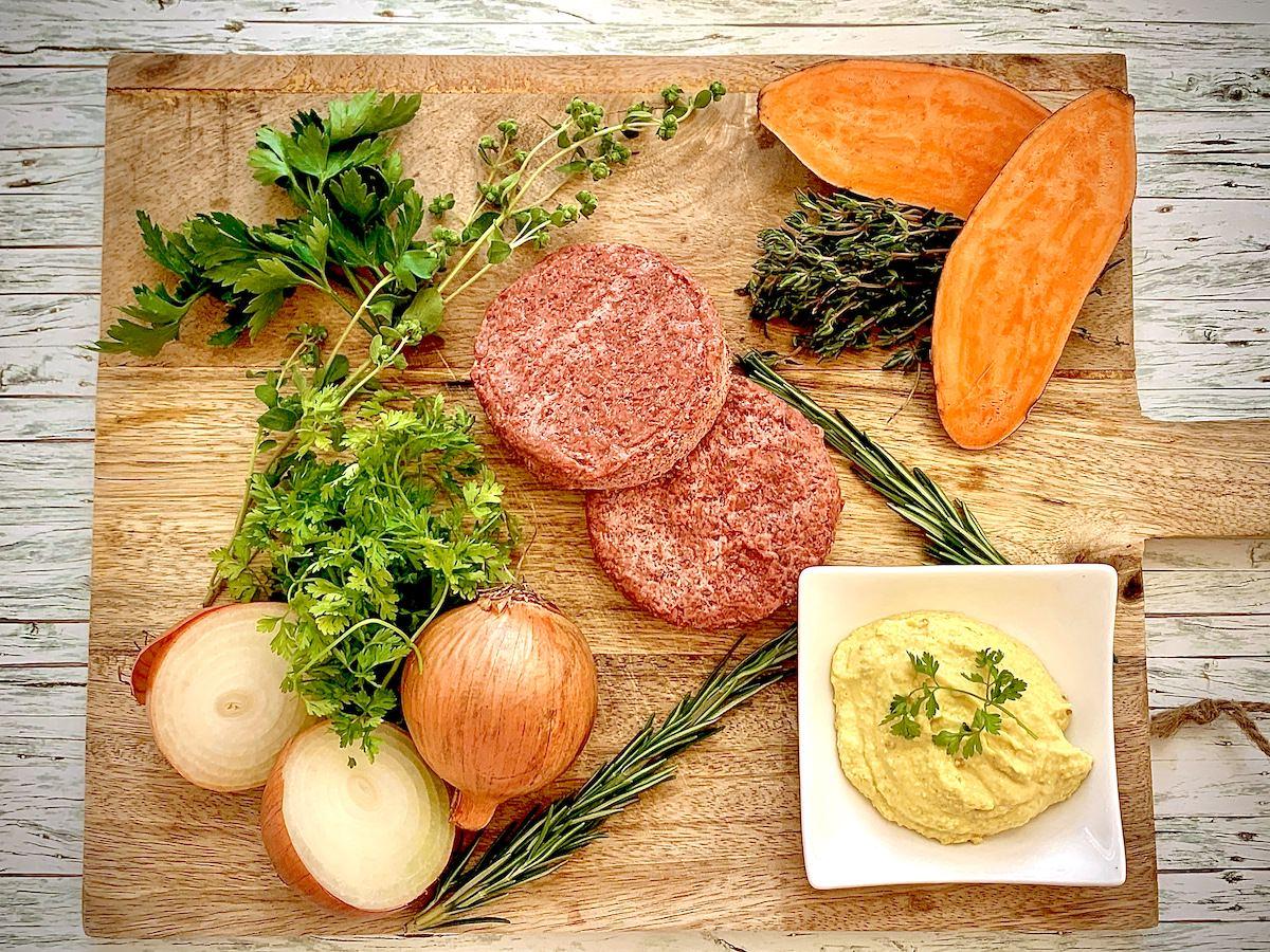Beefer veganes Rezept Zutaten